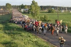 Традиционный Волжский крестный ход будет посвящен святому Сергию Радонежскому