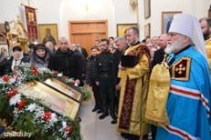 Митрополит Минский Павел освятил храм в Могилеве в честь царственных страстотерпцев