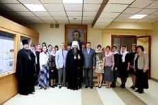 В Нижнем Новгороде вручили свидетельства о повышении квалификации учителям православных гимназий