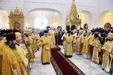 В Петербурге освящен восстановленный собор в честь Феодоровской иконы Божией Матери