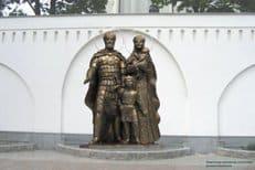 В Москве открыли памятник святому князю Димитрию Донскому и преподобной Евфросинии Московской