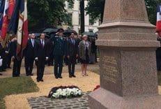 Во Франции открыты памятники русским воинам, погибшим в кампании 1814 года