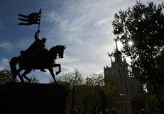 Патриарх Кирилл принял участие в открытии памятника святому Димитрию Донскому в Москве