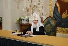 Патриарх Кирилл возглавит заседание Синода в Санкт-Петербурге