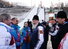 Посещение патриархом Кириллом Сочи в преддверии Олимпиады стало для спортсменов большим событием