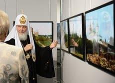 Патриарх Кирилл принял участие в открытии нового культурного центра в Смоленске