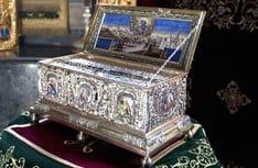 Ковчег с частицей Пояса Пресвятой Богородицы принесен в Казахстан