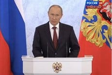 Быть многодетной семьей должно стать модным и престижным, заявил Владимир Путин