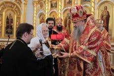 Саранской епархии передали в дар из Италии три частицы мощей святителя Николая Чудотворца