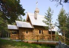 Патриарх Кирилл освятил храм на одном из островов Валаама