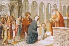 Православная Церковь празднует Введение во храм Пресвятой Богородицы