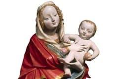 В Праге проходит выставка редких скульптур Богородицы