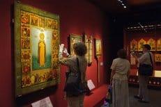 В Коломенском открылась выставка икон времен первых царей династии Романовых