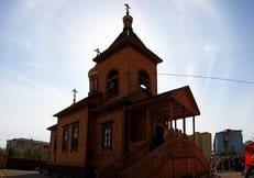 В Якутске восстановлен единственный мужской монастырь